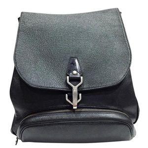 Louis Vuitton Cassiar black taiga backpack